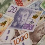 Bild med pengar som artister strävar efter att få genom att spela musik live
