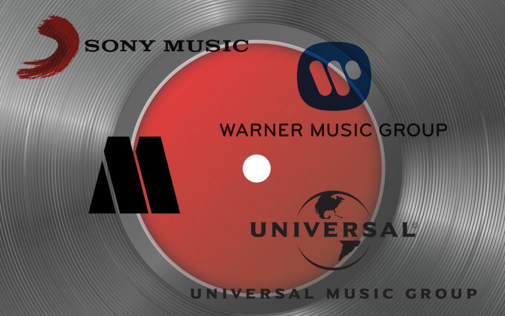 Bild med skivbolag logo